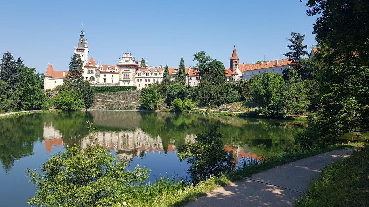 Pruhonicky Park v Praze